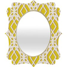 Aimee St Hill Diamonds Quatrefoil Mirror