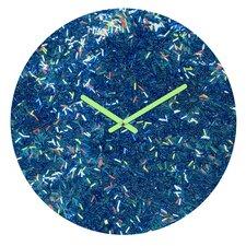 Social Proper Tinsel Ii Wall Clock