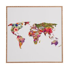 Its Your World by Bianca Green Framed Wall Art