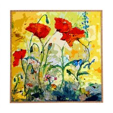 Poppies Provence by Ginette Fine Art Framed Wall Art