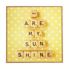 You Are My Sunshine by Happee Monkee Framed Wall Art