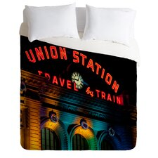 Bird Wanna Whistle Light Weight Union Station Duvet Cover