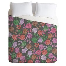 Bianca Green Lightweight Roses Vintage Duvet Cover