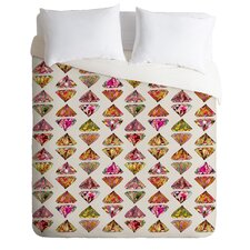 Bianca Green Lightweight These Diamonds Are Forever Duvet Cover