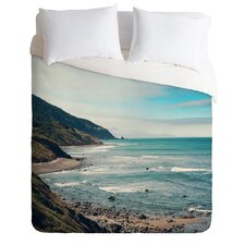 Catherine McDonald Light Weight California Pacific Coast Highway Duvet Cover