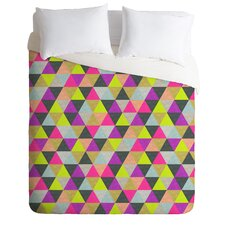 Bianca Green Lightweight Ocean of Pyramid Duvet Cover