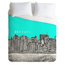 Bird Ave Lightweight New York Duvet Cover