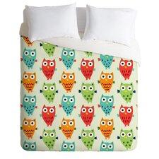 Andi Bird Lightweight Owl Fun Duvet Cover