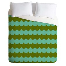 Holli Zollinger Light Weight Waves of Color Duvet Cover