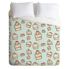 Jennifer Denty Lightweight Cake Slices Duvet Cover