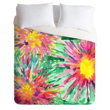 Joy Laforme Light Weight Floral Confetti Duvet Cover