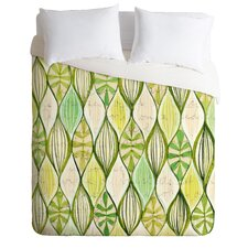 Cori Dantini Green Lightweight Duvet Cover