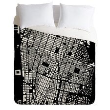 CityFabric Inc Lightweight NYC Duvet Cover
