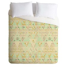 Pattern State Lightweight Triangle Lake Duvet Cover