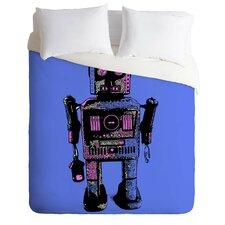 Romi Vega Lightweight Lantern Robot Duvet Cover