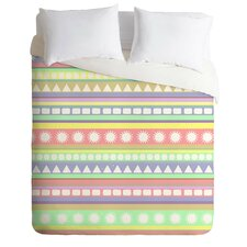 Romi Vega Lightweight Pastel Duvet Cover