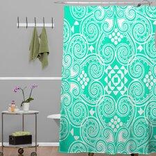 Budi Kwan Decographic Polyesterrr Shower Curtain