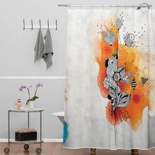 Iveta Abolina Polyester Forbbiden Thoughts Shower Curtain