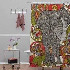 Valentina Ramos Polyester Bo The Elephant Shower Curtain