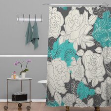 Khristian A Howell Woven Polyester Rendezvous 3 Shower Curtain