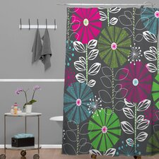 Khristian A Howell Woven Polyester Cape Town Blooms Shower Curtain