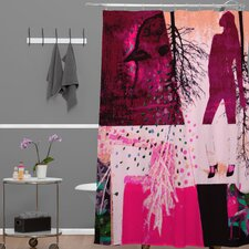 Randi Antonsen Polyester City 3 Shower Curtain