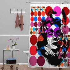 Randi Antonsen Polyester Poster Heroins 6 Shower Curtain