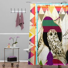 Randi Antonsen Polyester Luns Box 5 Shower Curtain