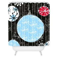 Rachael Taylor Bauble Magic Woven Polyester Shower Curtain