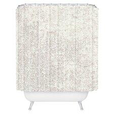 Social Proper Snowballs Woven Polyester Shower Curtain
