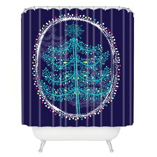 Rachael Taylor Decorative Tree Woven Polyester Shower Curtain