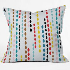 Khristian A Howell Nolita Drops Woven Polyester Throw Pillow