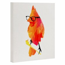Punk Bird by Robert Farkas Graphic Art Gallery Wrapped on Canvas