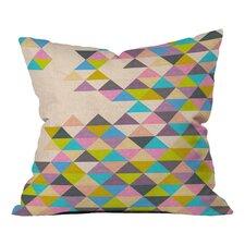 Bianca Green Completely Incomplete Indoor/Outdoor Throw Pillow