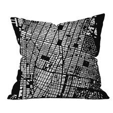 CityFabric Inc NYC Throw Pillow