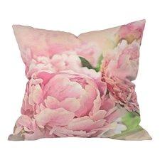 Lisa Argyropoulos Peonies Throw Pillow