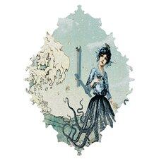 Belle 13 Sea Fairy Wall Clock