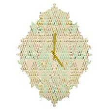Pattern State Triangle Lake Wall Clock