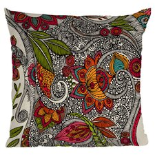 Valentina Ramos Random Flowers Polyester Throw Pillow
