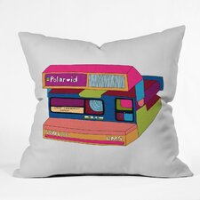 Bianca Green Captures Great Moments Woven Polyester Throw Pillow
