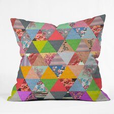 <strong>DENY Designs</strong> Bianca Green Lost in Pyramid Woven Polyester Throw Pillow