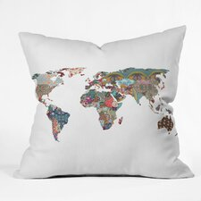 <strong>DENY Designs</strong> Bianca Green Louis Armstrong Told Us So Woven Polyester Throw Pillow