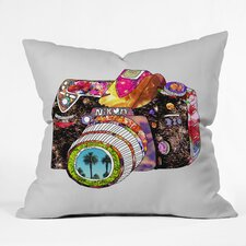 Bianca Green Picture This Woven Polyester Throw Pillow