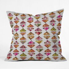 <strong>DENY Designs</strong> Bianca Green These Diamonds Are Forever Indoor/Outdoor Polyester Throw Pillow