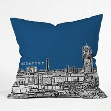 Bird Ave Ann Arbor Woven Polyester Throw Pillow