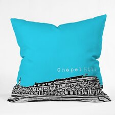Bird Ave Chapel Hill Woven Polyester Throw Pillow