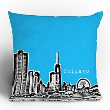 Bird Ave Chicago Woven Polyester Throw Pillow