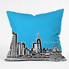 <strong>DENY Designs</strong> Bird Ave Chicago Indoor/Outdoor Polyester Throw Pillow