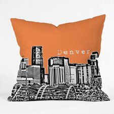 <strong>DENY Designs</strong> Bird Ave Denver Indoor/Outdoor Polyester Throw Pillow