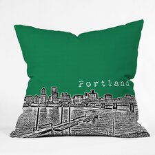 Bird Ave Portland Woven Polyester Throw Pillow
